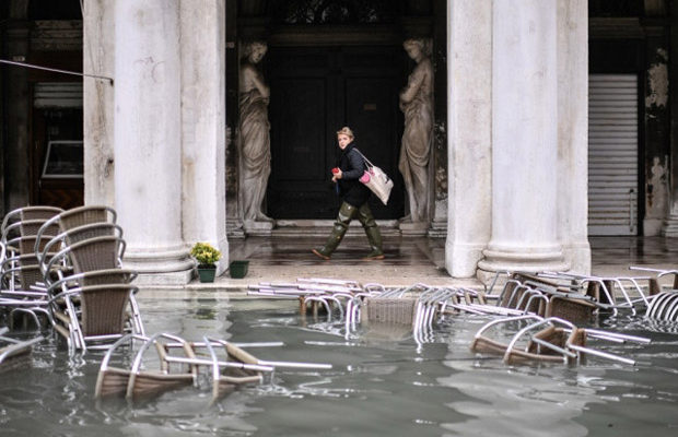 Resultado de imagen para venecia inundada